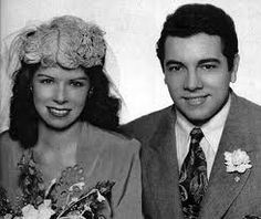 Mario Lanza and Betty Lyhan married 1945