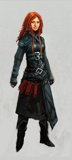 Women fighters in reasonable armour. ^.^