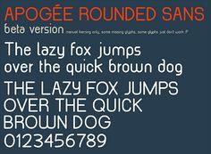 40 Free Fonts for Flat Design