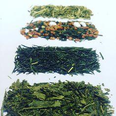 Connaissez-vous les thés verts japonais ?  Ils se reconnaissent et s'apprécient facilement !  #thésjaponais #thé #Japon #bancha #nightshadows #shizuoka #genmaicha #kukicha #notes #iode #algues #légumesverts #popcorn #thédetige #thédombre #cha #thé #tea #tealovers #thedesmuses #strasbourg #hoplagram