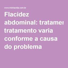 Flacidez abdominal: tratamento varia conforme a causa do problema