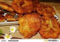 Bramborové karbanátky s balkánským sýrem Veg Recipes, Potato Recipes, Food 52, Tandoori Chicken, Cauliflower, French Toast, Food And Drink, Potatoes, Vegetarian