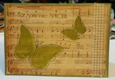 Kaszazz workshop card, used acetate to make the stencil for the butterflies.
