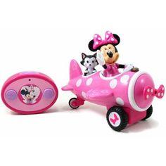 Disney Minnie Mouse R/C Airplane, Pink