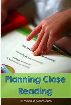 In order for it to reach its full potential, you need to spend a good amount of time planning close reading. Read this teacher's planning steps here. Reading Help, Beginning Reading, 2nd Grade Reading, Close Reading, Kids Reading, Teaching Reading, Learning, Teaching Tips, Guided Reading