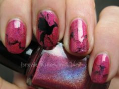 Hunger Games nail art...