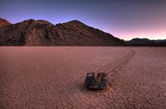 The Racetrack, Death Valley National Park, California