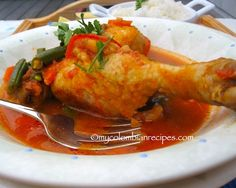Pollo Guisado a la Jardinera (Braised Chicken with Vegetables)