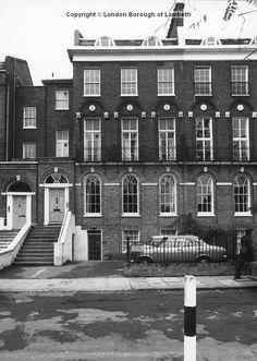 Kennington Road, Kennington 1972 Old Pictures, Old Photos, Vintage Photos, New South, South London, Vintage London, Old London, Local History, British History
