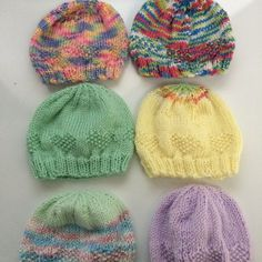 Preemie Hats for Charity Knitting pattern by Carissa Browning | Knitting Patterns | LoveKnitting