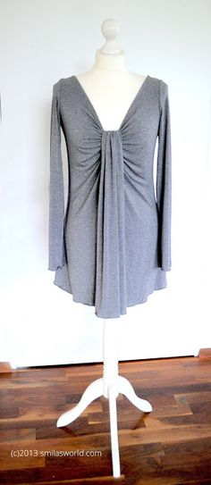 Tutorial: Drapee Shirt Burda 2/2013 #113