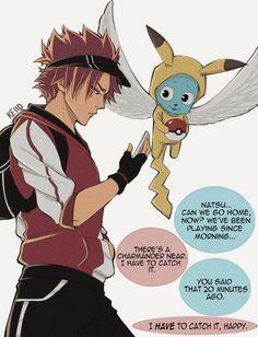 "keiid: "" Fairy Tail x Pokemon Go"""