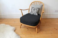 Vintage mid century Ercol windsor easy chair in Home, Furniture & DIY, Furniture, Sofas, Armchairs & Suites | eBay