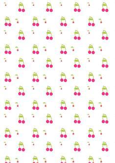Free digital cherry cherry scrapbooking papers - ausdruckbares Geschenkpapier - freebie | MeinLilaPark – DIY printables and downloads