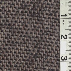 Gray/Black Wool Coating - Fabric By The Yard At Discount Prices