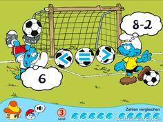 Die Schlümpfe App - Zählen Rechnen lernen Kinderspiele (2)