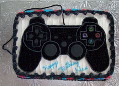 playstation controller cake