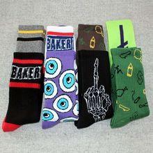 Moda jasper padeiro harajuku summer style grosso terry meias skate meias de algodão dos homens(China (Mainland))