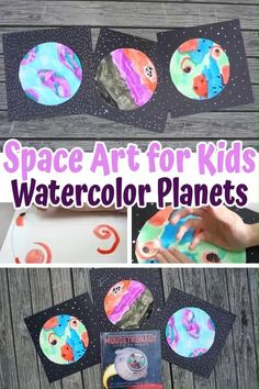 Space Art for Kids
