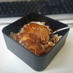 Bento du jour porc laqué :p #foodporn #bentooftheday