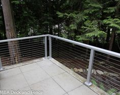 MBA Deck and Fence | Issaquah cable railing photos - MBA Deck and Fence