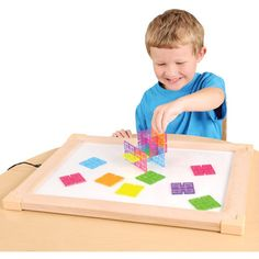 Energy-efficient LED light pad for light and color exploration! #lightpad