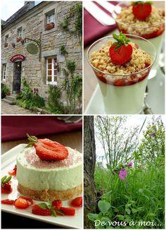 De vous à moi...: Gâteau Léger Fraise Basilic