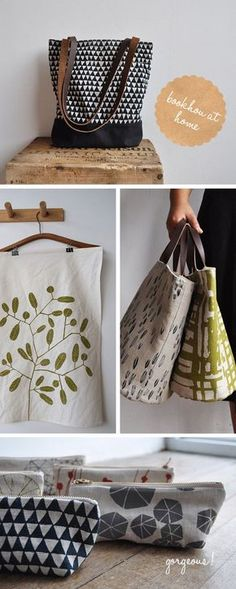 Loving... bookhou at home - Fellow Fellow #diybag