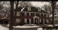 "Tour the ""Home Alone"" Christmas Movie House and other movie homes.  I LOVED this house : )"