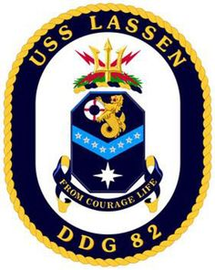 USS Lassen (DDG 82) ship crest