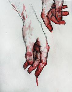 The dichotomy between the hands - and thus by extension man himself - and their ability to create and destroy