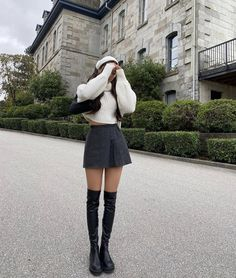 Cute Casual Outfits, Outfits For Teens, Fall Outfits, Fashion Outfits, Outfit Goals, Aesthetic Clothes, Korean Fashion, Fashion Brands, Autumn Fashion