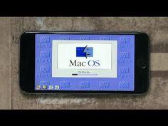 Mac OS 8 a funcionar no iPhone 6S [vídeo] | O futuro é Mac
