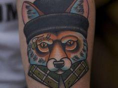 new school fox thief tattoo meaning