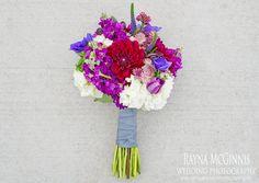 Colorful Bridal Bouquet - Colorado Florist - www.bellacalla.com
