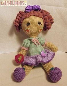 en español Crochet Dolls, Knit Crochet, Pet Toys, Kids Toys, Amigurumi Doll, Crochet Animals, Peppa Pig, Hello Kitty, Dinosaur Stuffed Animal