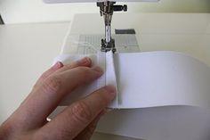 TUTORIAL: the Circle Skirt | sewing elastic