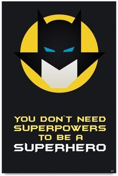 Most memorable quotes from Batman, a movie based on film. Find important Batman Quotes from film. Batman Quotes about Fantastic and interesting Quotes Batman. Superhero Party, Superhero Logos, Batman Superhero, Batman Classroom, Batman Quotes, Batman Birthday, Motivational Posters, Quotes For Kids, Super Powers