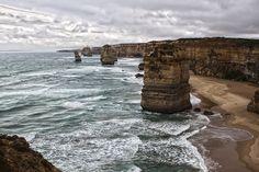 12 Apostles - Great Ocean Road, Victoria, Australia Victoria Australia, Ocean, Spaces, Explore, Nature, Travel, Tights, Naturaleza, Viajes