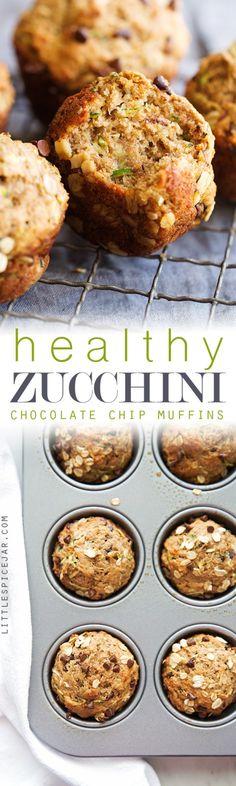 Healthy Zucchini Muf