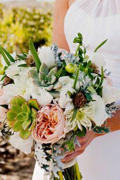 succulents bouquet by esmeralda