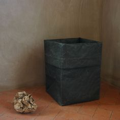Handmade Paper Waste Bin - All Home Accessories - Gifts For The Home - Pfeifer Finds - Waste Bins @ Pfeifer Studio- Detail