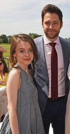 Outlander season 2........... New cast members Rosie Day & Richard Rankin
