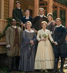 The Fraser's and MacKenzie's ❤️ - The Wedding - Outlander_Starz Season 5 - The Fiery Cross - February 2020 Claire Fraser, Jamie And Claire, Jamie Fraser, Outlander Casting, Outlander Book, Outlander Tv Series Cast, Gabaldon Outlander, Diana Gabaldon, True Blood