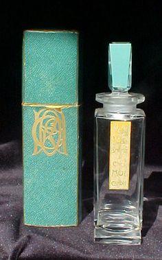1927 Baccarat French commercial perfume bottle for Caron 'Les Pois de Senteur de Chez Moi' w/box | eBay