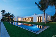 Une maison d'architecte à Palm Beach