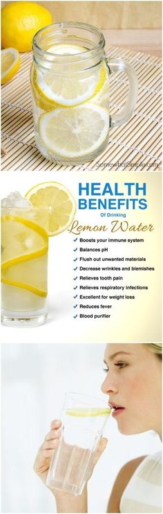 Drinking lemon water every morning provides you many health benefits. This miracle drink is high in antioxidants, protein, vitamins B and C, phosphorus, volatile oils, potassium, flavonoids, and carbohydrates. It boosts your immune system and it has potent antibacterial and antiviral properties.