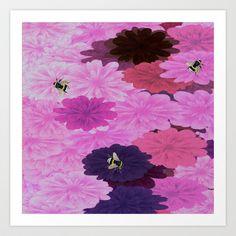 Bee Fiesta Art Print by JAK Dezines - $25.00