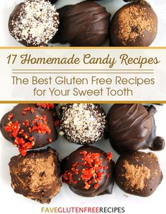 17 Homemade Candy Recipes | The perfect Valentine's Day desserts! These recipes for candy are so delightful.