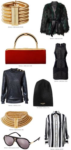 Oh to Be a Muse   Bay Area Fashion Blogger Inspiring Style: Monochromatic: Balmain for H&M